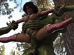 Rahele And The Orcs Cartoon Hd Porn Video A4 Xhamster