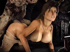 Lara Brutal Fuck By Monster Sfm With Sound